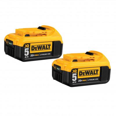 DCB205-2 |  batterie DCB205 20V MAX * Premium XR 5.0Ah Lithium Ion Pqt2