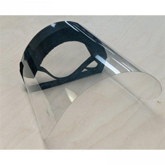 Visière de protection faciale en polycarbonate