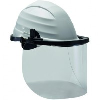 Polycarbonate Face Shield Protection for helmet
