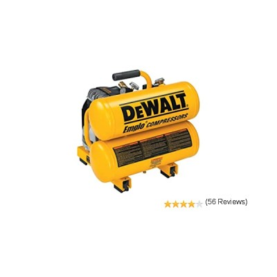 D55151 | D55151 1.1 HP Continuous 4 Gallon Electric Hand Carry Compressor Dewalt