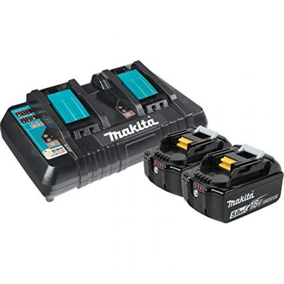 Makita DTM51Z 18 V LXT Sans fil Multi-Cutter Multi-outil 1 x 5AH Batterie BL1850B