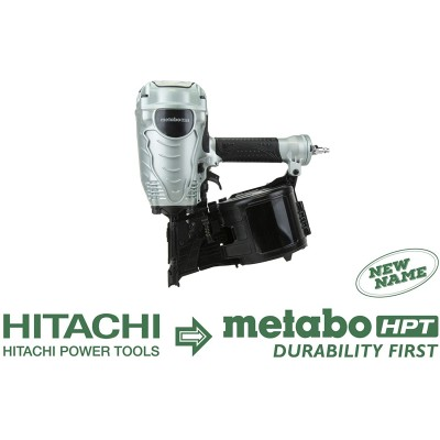 "NV90AGS / NV90AG(S) 3-1/2"" Coil Framing Nailer Metabo HPT"
