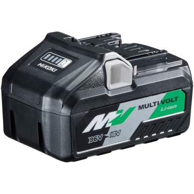 372121M / Metabo-HPT HIT-372121M 36V/18V MultiVolt Lithium Ion Slide Battery (4.0Ah/8.0Ah)