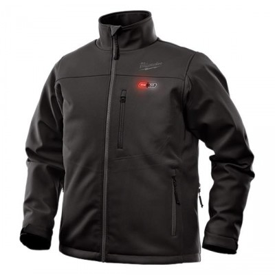 202B-21 | Milwaukee Tool Black M12™ Heated TOUGHSHELL™ Jacket KIT