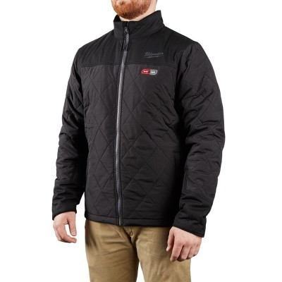 203B-21 | Milwaukee Tool Black M12™ Heated AXIS™ Jacket Kit