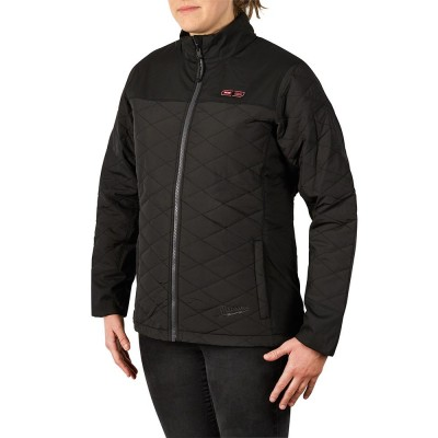 233B-21 | Milwaukee Tool Black M12™ Women's Heated AXIS™ Jacket KIT