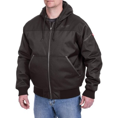 254B | Milwaukee Tool Black GRIDIRON™ Hooded Jacket