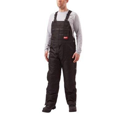 261B | Milwaukee Tool Black GRIDIRON™ Zip-to-Thigh Bib Overall