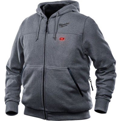 302G-21 | Milwaukee Tool Gray M12™ Heated Hoodie Kit