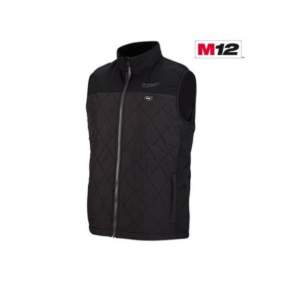 303B-20 | Milwaukee Tool Black M12™ Heated AXIS™ Vest