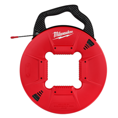 48-22-4167 | Milwaukee 200' Polyester Fish Tape w/ Non-Conductive Tip