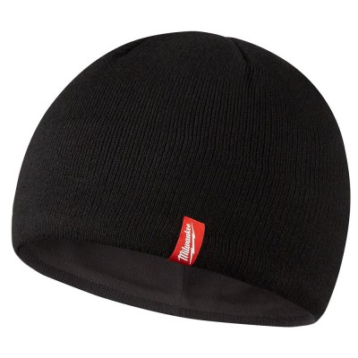 502B | Milwaukee Tool Black Fleece Lined Beanie