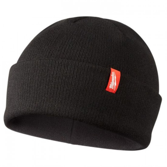 503B | Milwaukee Tool Black Cuffed Beanie