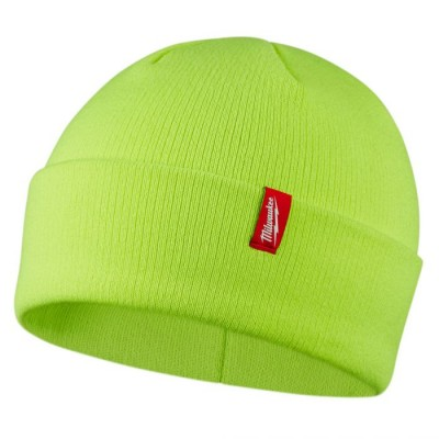 503HV | Milwaukee Tool High Visibility Cuffed Beanie