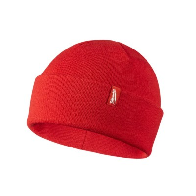 503R | Milwaukee Tool Red Cuffed Beanie