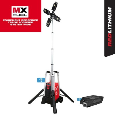 MXF041-1XC | Milwaukee MXF041-1XC MX FUEL ROCKET Tower Light/Charger