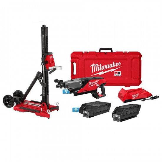 MXF301-2CXS | Milwaukee MXF301-2CXS MX FUEL™ Handheld Core Drill Kit with Stand