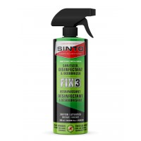 FIX3 / ALL PURPOSE DISINFECTANT CLEANER Effective on all surfaces SINTO