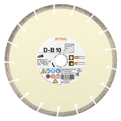 "08350907034 / Stihl Cutting wheel D-B10 230mm/9"" - 0835 090 7034"