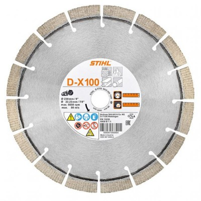 "08350927000 / Stihl Cutting wheel D-X100 230mm/9"" - 0835 092 7000"