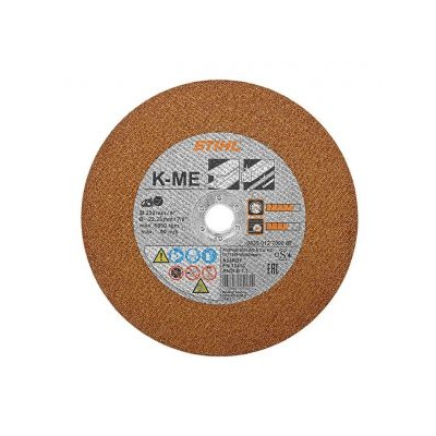 "08350127000 / Stihl Cutting wheel K-ME 230mm/9"" - 0835 012 7000"